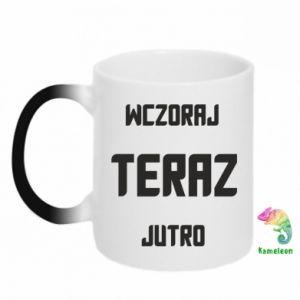 Magic mugs Yesterday Today Tomorrow