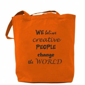 Torba We beliwe creative people