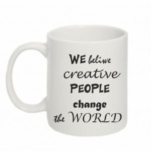Kubek 330ml We beliwe creative people