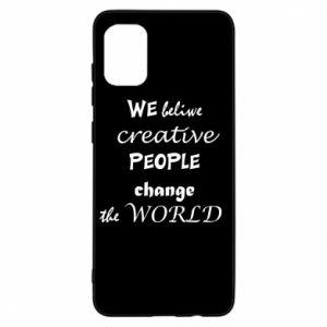 Etui na Samsung A31 We beliwe creative people