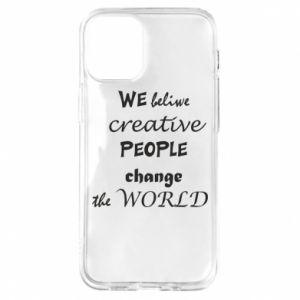Etui na iPhone 12 Mini We beliwe creative people