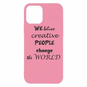 Etui na iPhone 12/12 Pro We beliwe creative people