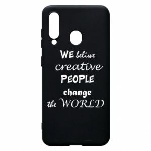 Etui na Samsung A60 We beliwe creative people