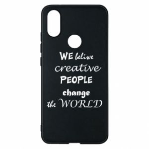 Etui na Xiaomi Mi A2 We beliwe creative people