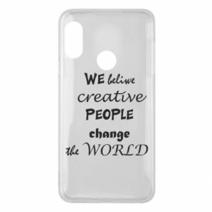 Etui na Mi A2 Lite We beliwe creative people