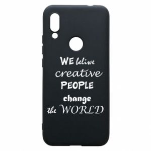 Etui na Xiaomi Redmi 7 We beliwe creative people