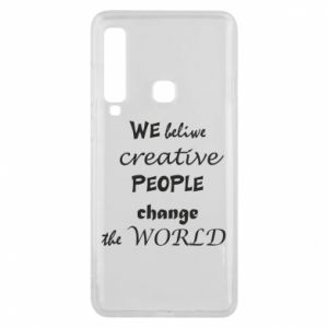 Etui na Samsung A9 2018 We beliwe creative people