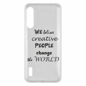 Etui na Xiaomi Mi A3 We beliwe creative people