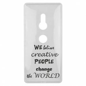 Etui na Sony Xperia XZ2 We beliwe creative people