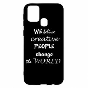 Etui na Samsung M31 We beliwe creative people