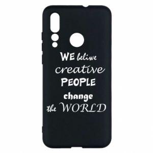 Etui na Huawei Nova 4 We beliwe creative people