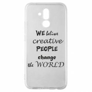 Etui na Huawei Mate 20 Lite We beliwe creative people