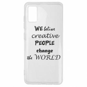 Etui na Samsung A41 We beliwe creative people