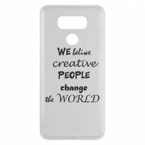 Etui na LG G6 We beliwe creative people