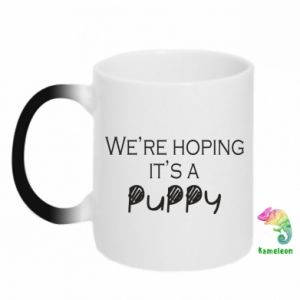 Chameleon mugs We're hoping it's a puppy
