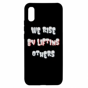 Etui na Xiaomi Redmi 9a We rise by liftins others