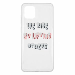 Etui na Samsung Note 10 Lite We rise by liftins others