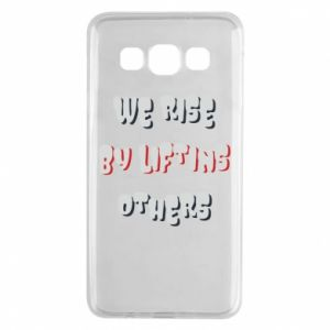 Etui na Samsung A3 2015 We rise by liftins others