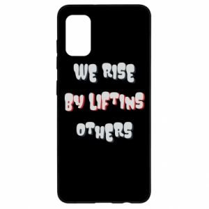 Etui na Samsung A41 We rise by liftins others