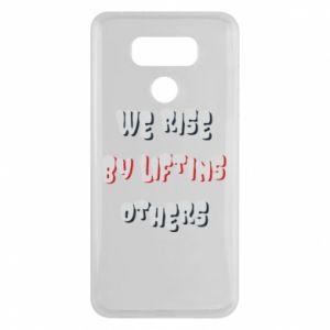 Etui na LG G6 We rise by liftins others