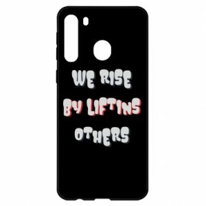 Etui na Samsung A21 We rise by liftins others