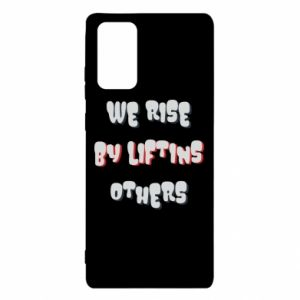 Etui na Samsung Note 20 We rise by liftins others