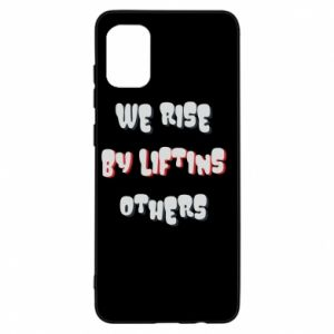 Etui na Samsung A31 We rise by liftins others