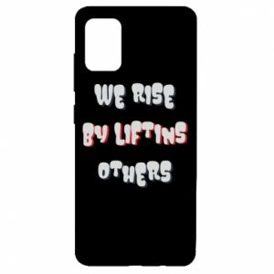 Etui na Samsung A51 We rise by liftins others