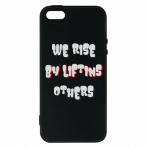 Etui na iPhone 5/5S/SE We rise by liftins others