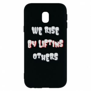 Etui na Samsung J3 2017 We rise by liftins others