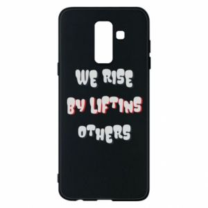 Etui na Samsung A6+ 2018 We rise by liftins others