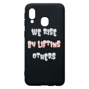 Etui na Samsung A40 We rise by liftins others