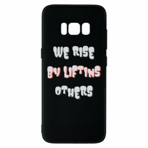 Etui na Samsung S8 We rise by liftins others