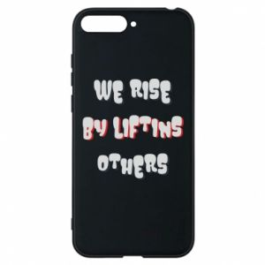 Etui na Huawei Y6 2018 We rise by liftins others