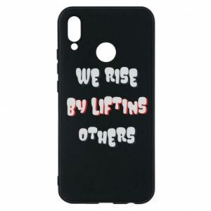 Etui na Huawei P20 Lite We rise by liftins others
