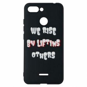 Etui na Xiaomi Redmi 6 We rise by liftins others