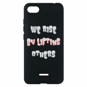 Etui na Xiaomi Redmi 6A We rise by liftins others