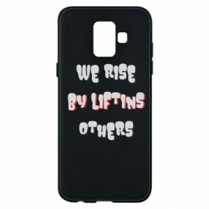Etui na Samsung A6 2018 We rise by liftins others