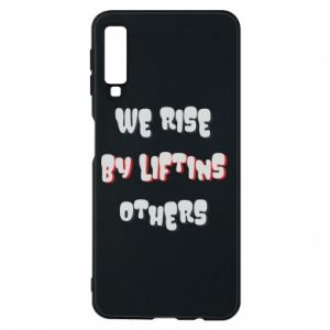 Etui na Samsung A7 2018 We rise by liftins others