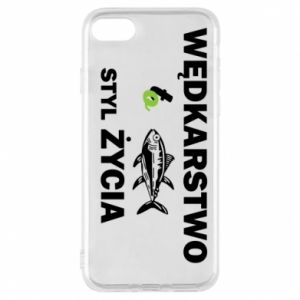 Phone case for iPhone 8 Fishing is the way of life