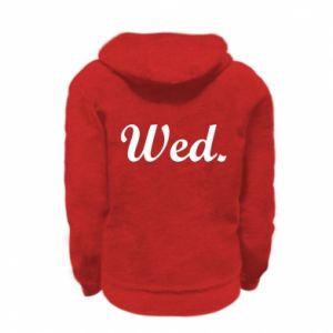 Bluza na zamek dziecięca Wednesday