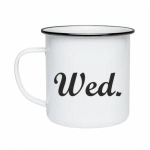 Kubek emaliowane Wednesday