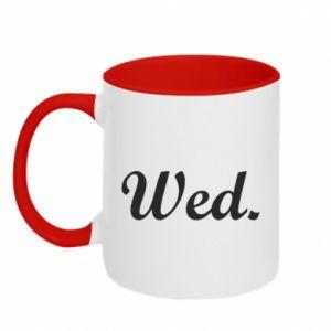 Kubek dwukolorowy Wednesday