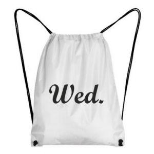 Plecak-worek Wednesday