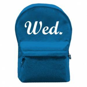 Plecak z przednią kieszenią Wednesday
