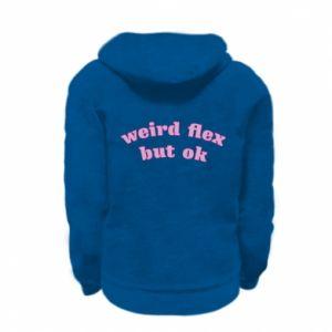 Bluza na zamek dziecięca Weird flex but ok