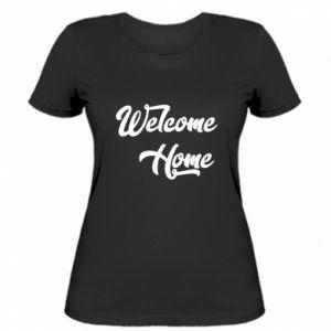 Damska koszulka Welcome home