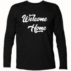 Koszulka z długim rękawem Welcome home