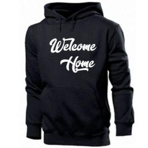 Męska bluza z kapturem Welcome home