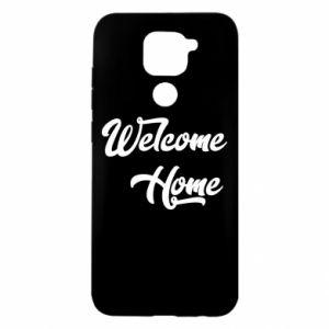 Etui na Xiaomi Redmi Note 9/Redmi 10X Welcome home